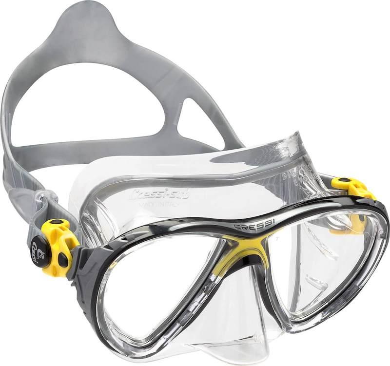 Maska potápění cressi big eyes evolution yellow