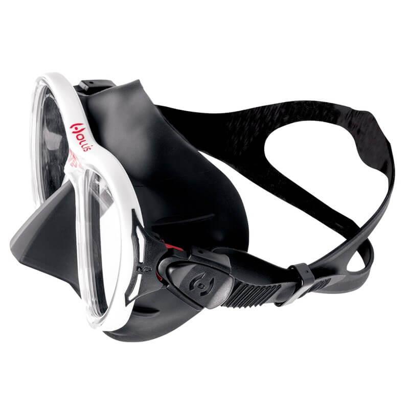 Potápěčská maska Hollis M-3 bílá